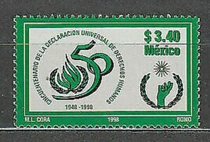 Mexico - Mail 1998 Yvert 1790 MNH
