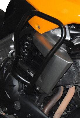 Black universal mirrors naked Kawasaki Versys KLE 650 2007-2010 Z750 2004-2011