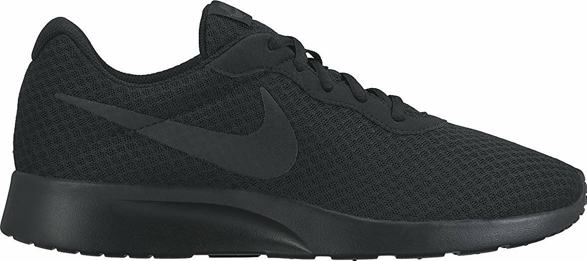 Nike TANJUN Mens Black Anthracite 812654-001 Lace Up Casual shoes