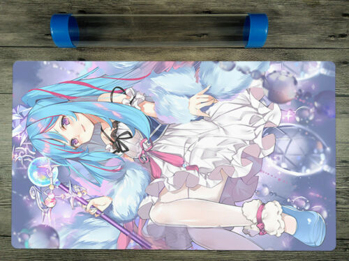 YuGiOh Witchcrafter Madame Verre TCG OCG Custom Playmat Free High Quality Tube