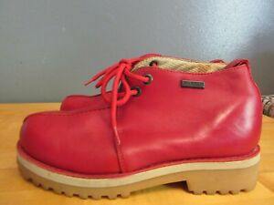Buffalino B-Boots Red Leather Mens sz