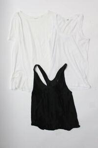 Lululemon-Monrow-Clutoo-Tank-Top-T-Shirt-Black-White-Size-Small-Lot-3