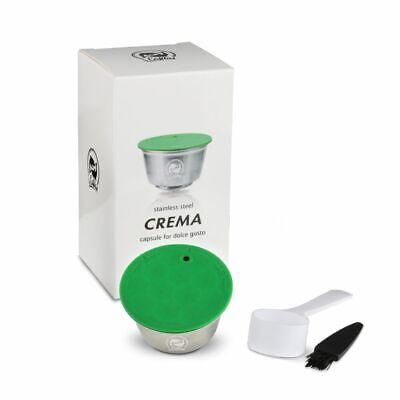 Yo cafilas Acero Inoxidable Reutilizable cápsulas de café vainas Filtro Para Dolce Gusto | eBay