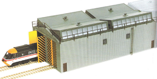 Peco LK-80 Train Shed Unit OO/HO Gauge