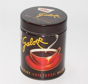 aeltere-Blechdose-ASO-Galopp-rote-Tasse-Kaffee-Surrogat-Extraxt-Offenburg-G144