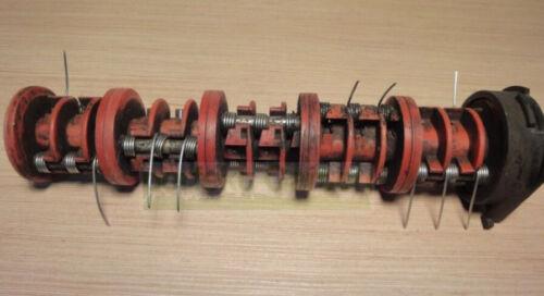 12 X Buchse für Gardena Brill Hattrick 40 EH BHC BHR V12 Lüfterwalze 34 X Feder