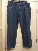 Croft & Barrow Men's Classic 5 Pocket Denim Pants. 40x32. New.