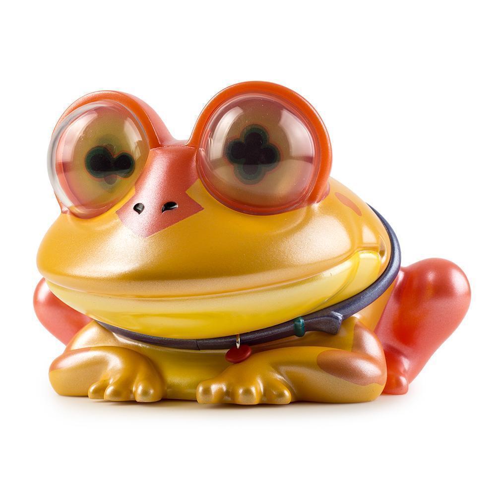 Futurama HYPNOTOAD 4.5  VINYL ART FIGURE hypno toad frog figurine KIDROBOT 2018