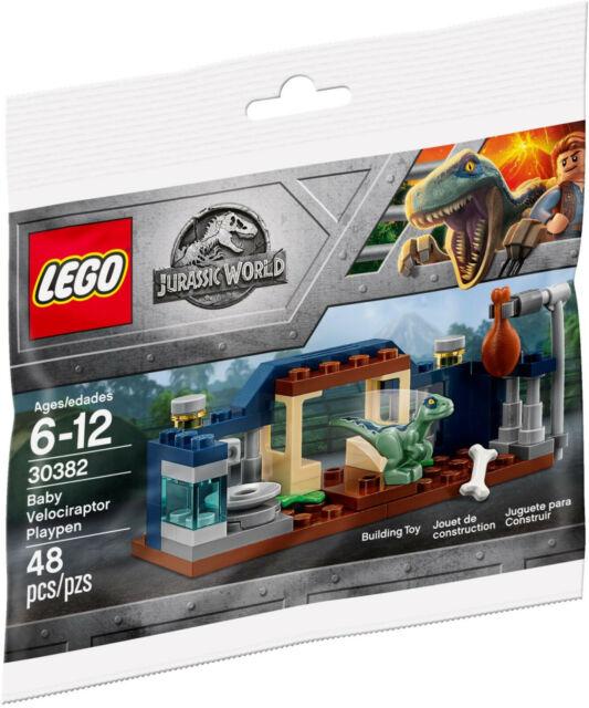 LEGO 30382 Jurassic World Baby Velociraptor Playpen Polybag MISB