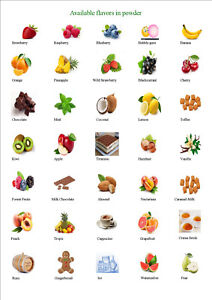 Food-Flavouring-FOOD-FLAVOUR-POWDER-CAKES-DRINKS-SWEET-36-Professional-flavours
