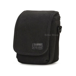 Cintura-Hombro-Camara-FUNDA-BOLSA-para-Sony-Cyber-shot-DSC-RX1r-MKII-H300