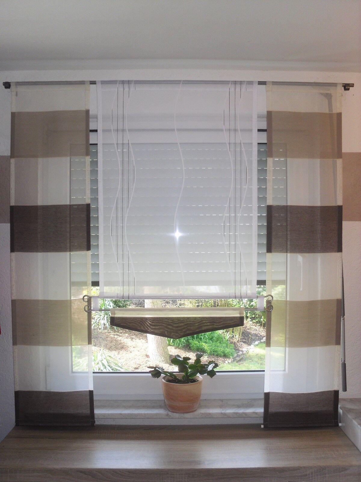 Gardinen   Gardinen-set  Flächenvorhang NEU     Nr 37 | Viele Sorten