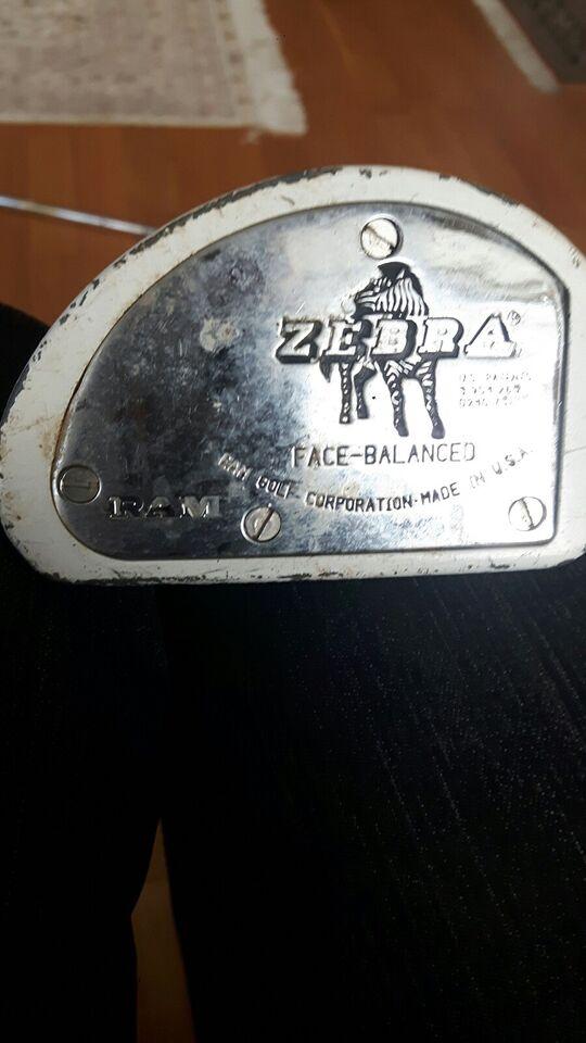 Andet golfsæt, stål, Putter Zebra og Fazer