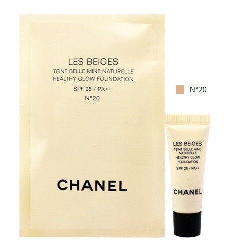 4df45e275e CHANEL Les Beiges Foundation No 20 GEL Touch Healthy Glow 11g