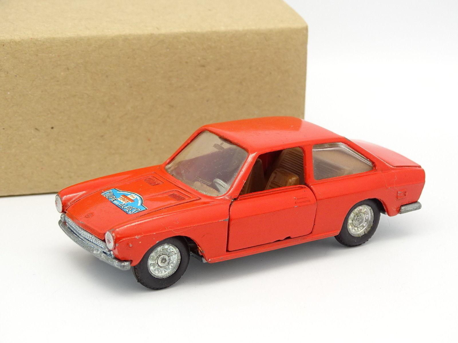 Mercury Sb 1 43 - Fiat 124 Sport Coupe Rojo