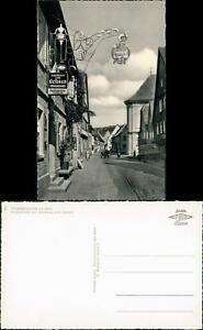 Ansichtskarte Sommerhausen Hauptstraße mit Gasthaus zum Ochsen 1963
