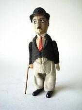 Schuco Charlie Chaplin vagabond tramp clockwork toy Germany 1930