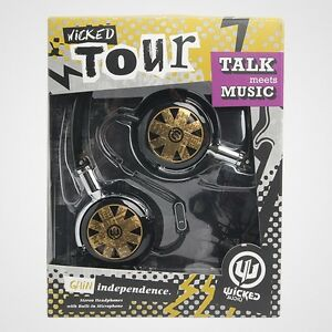 Wicked-Audio-WI-8151-Tour-Foldable-Headphones-w-Mic-WI8151-Black