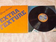 """GEORGE HARRISON EXTRA TEXTURE"""" LP APPLE EMI 1975 Ita BEATLES"""