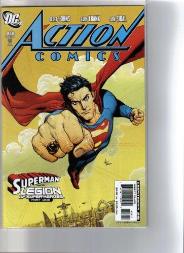 ACTION COMICS #858 NM!