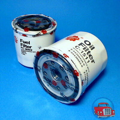 FLK4519 Oil Fuel Filter Kit Holden TF Rodeo w Isuzu 2.8L 4JB1-T Diesel Engine