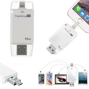128gb usb i flash drive u disk otg memory stick for iphone. Black Bedroom Furniture Sets. Home Design Ideas