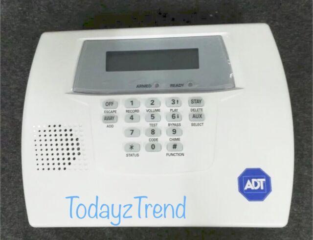Honeywell Lynxplus2 ADT Safewatch QuickConnect Plus Control Panel White