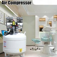 New Listing40l Dental Air Compressor Medical Noiseless Oil Free Oilless Air Compressor 750w
