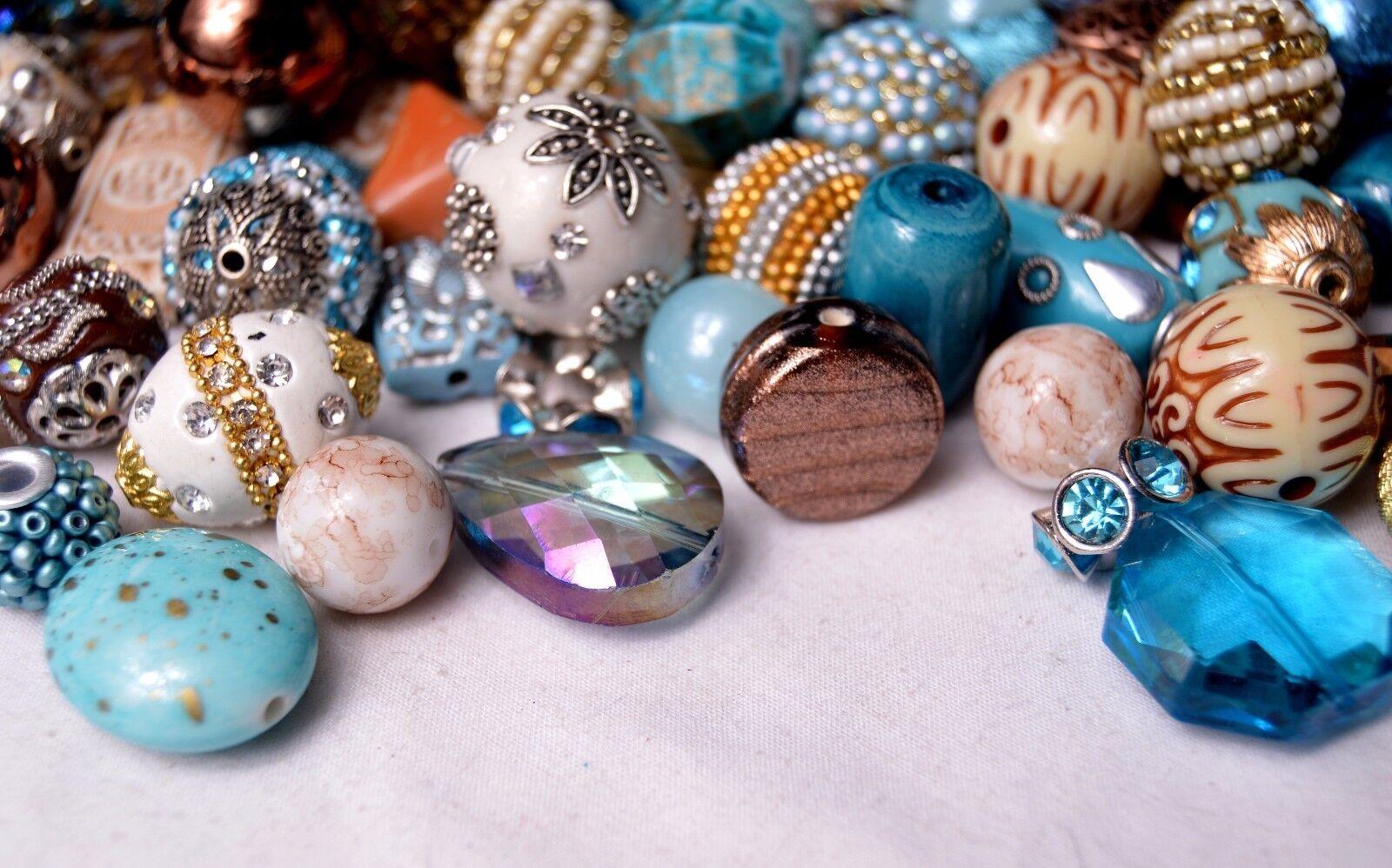 20 pieces Jesse James Beads Earthtones Indonesian Hand Beaded JJB500