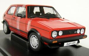 Nex-1-18-Scale-Volkswagen-VW-Golf-Mk1-GTi-Pirelli-Red-Diecast-model-Car