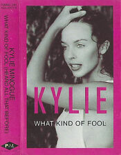 Kylie Minogue What Kind Of Fool CASSETTE SINGLE Electronic Synth-pop 1992 UK