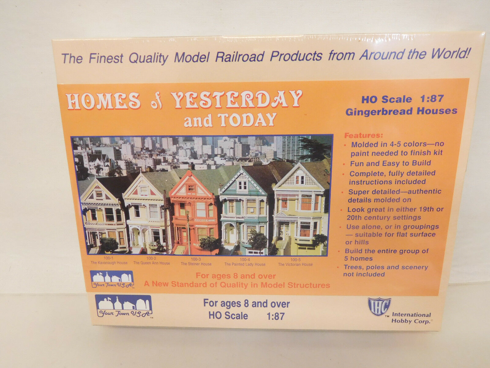 Mes-58564 International Hobby Corp. 100-3 h0 Kit the Steiner House, Unopened