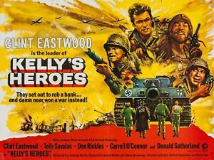 Kellys-Heroes-16-034-x-12-034-Reproduction-Movie-Poster
