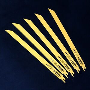 5-Dewalt-DT2355-305mm-Bi-Metal-Alternatif-Scie-Lames-Metal-Caoutchouc-Fibre