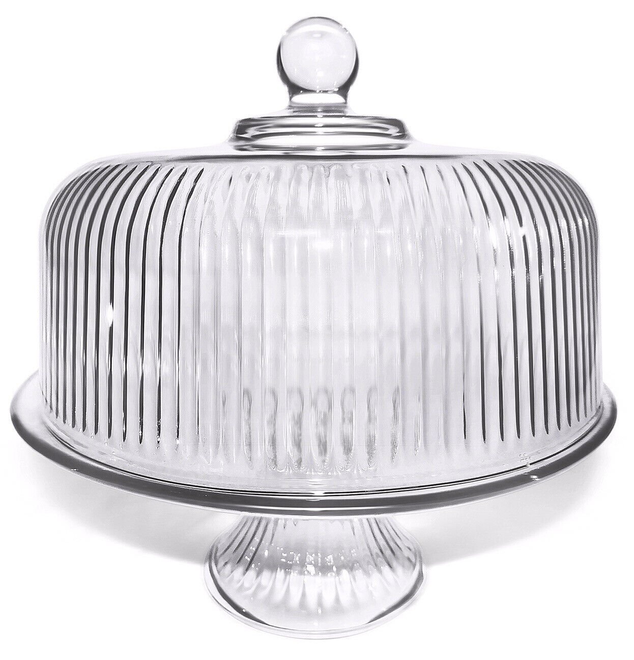 The Toscany Collection Savannah Pedestal Cake Plate With Dome Lid Original Box For Sale Online Ebay