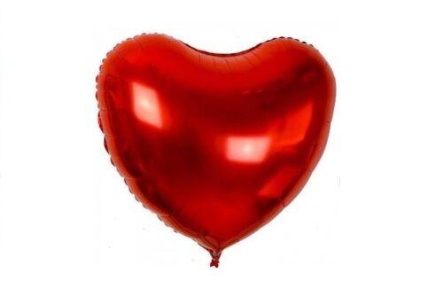 """10/"""" Pulgadas Rojo Corazón Redondo Polka Globos Decoraciones Globos De San Valentín especial"""