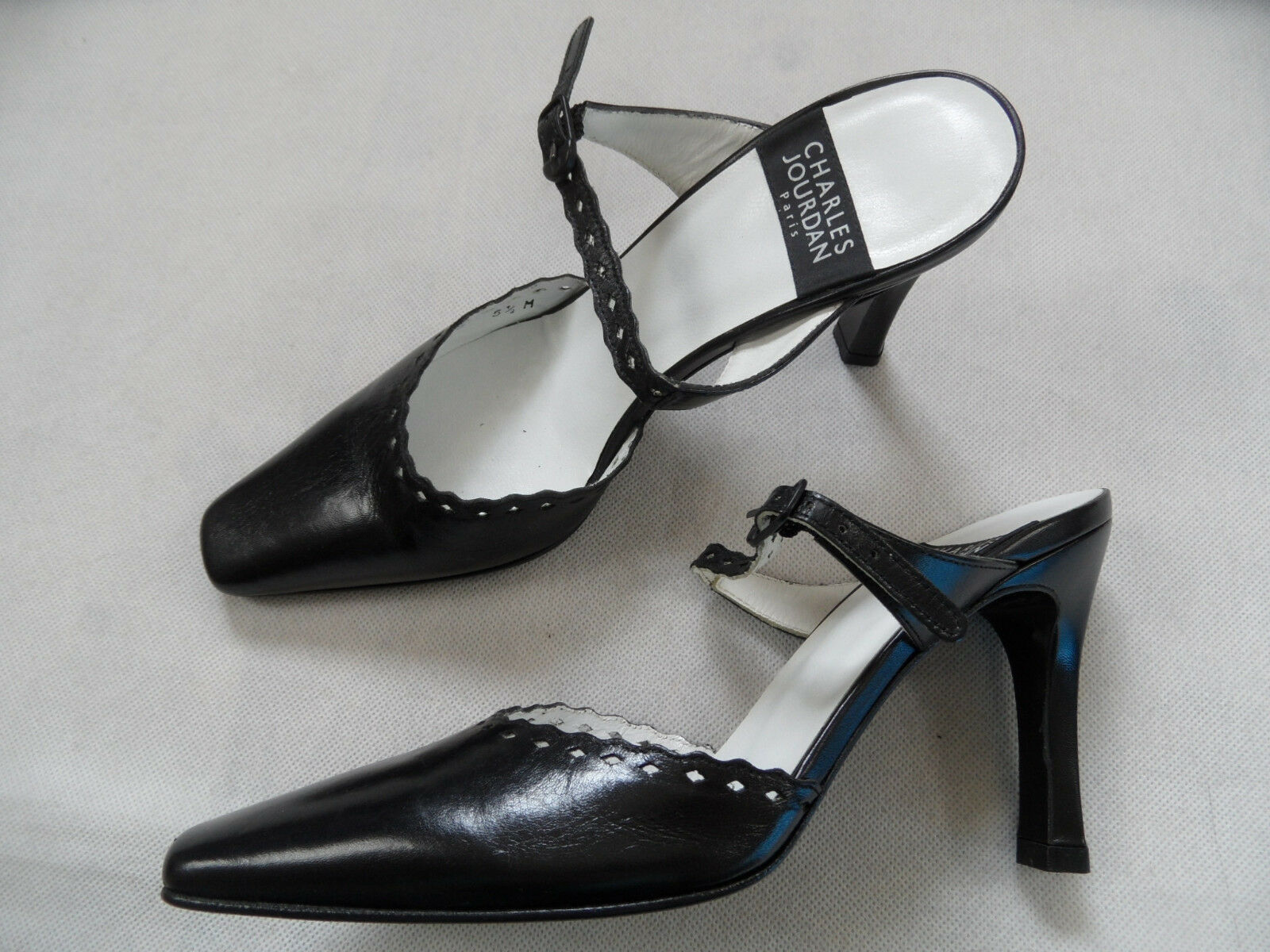 Charles Jourdan, sandalias, talla negra 5,5   36, nuevo pcl918.