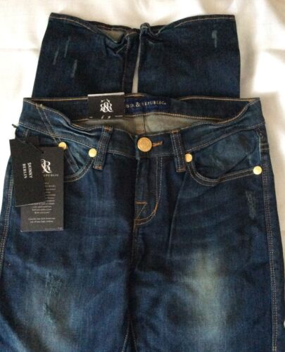 0 Stretch Sexy Jeans Nye Skinny Republic Rock Tags Berlin Kvinders Fit Low Rise 7H4wF
