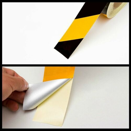 High Intensity Reflective Tape Hi Vis Safety Warning Stickers Film Wide DIY Home