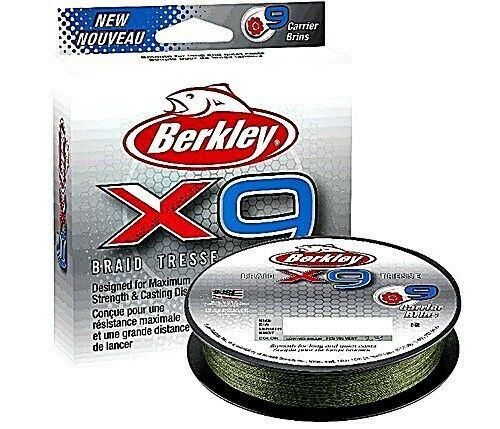 Berkley x9 0,17mm 300m 17kg 300m 0,17mm Low vis verde ecae96