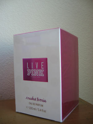 Victoria's Secret LIVE PINK Crushed Berries Eau De Parfum 3.4 fl oz 100 ml NEW