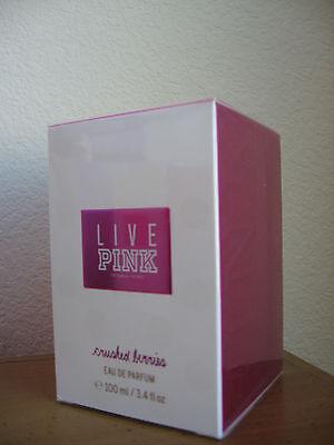 Victoria's Secret LIVE PINK Crushed Berries Eau De Parfum 3.4 fl oz 100 ml NEW