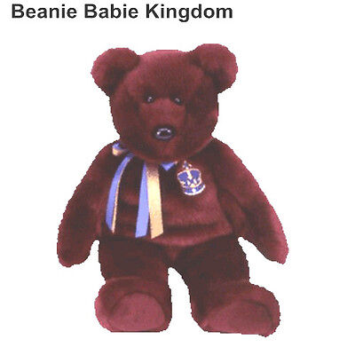 "TY BEANIE BUDDY * BUCKINGHAM * THE BEAR 14"" TALL - UK EXCLUSIVE"