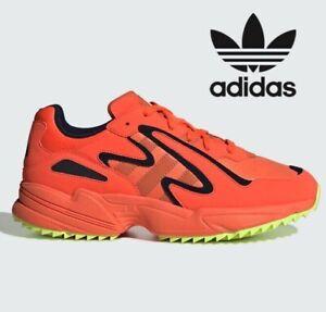 Adidas-YUNG-96-CHASM-TRAIL-Men-Sizes-UK-7-12-HI-RES-CORAL-ORANGE