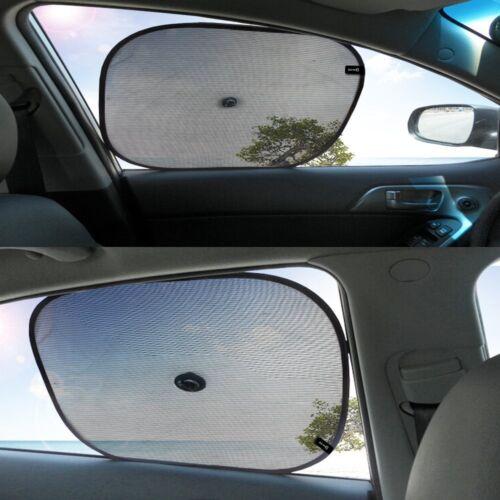 Zento Deals Set of Car Rear Side Front Sunshades Sun Visor Blocks UV Rays 3 in 1