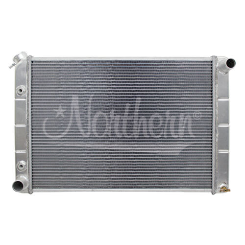 205029 Northern 79-93 Ford Mustang Crossflow Aluminum Radiator with A//T
