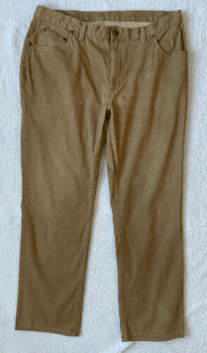 Bills Khakis Men Pleated Beige Cotton CORDUROY Ca… - image 1