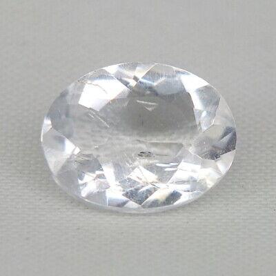 Top Rare Petalite : 3,07 Ct Natürliche Farblos Weiß Petalit Top Luster