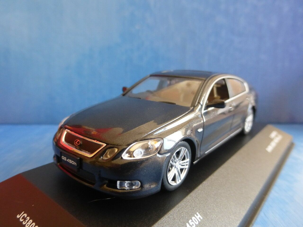 LEXUS GS450H 2006 2006 2006 DARK GREY METAL JCOLLECTION JC38002HD 1 43 LIMITED EDITION RHD d75aca