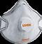 Indexbild 5 - Mundschutz 3M Uvex FFP 2 FFP2  6922 8810 VFlex 9152 2220 Atemschutzmaske  Ventil